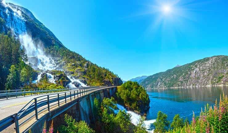 آشنایی با آبشار های خاص در اروپا