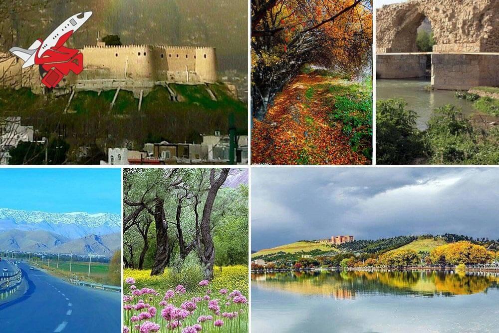 خرید بلیت خرمآباد به اصفهان به عنوان یکی از پرترددترین مسیرها برای سفر