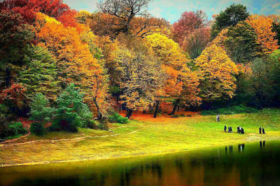 پارک جنگلی النگدره  I شکوه طبیعت پاییزی گرگان