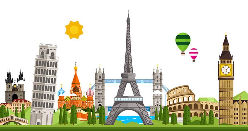 برگزیده ترین جاذبههای گردشگری اروپا