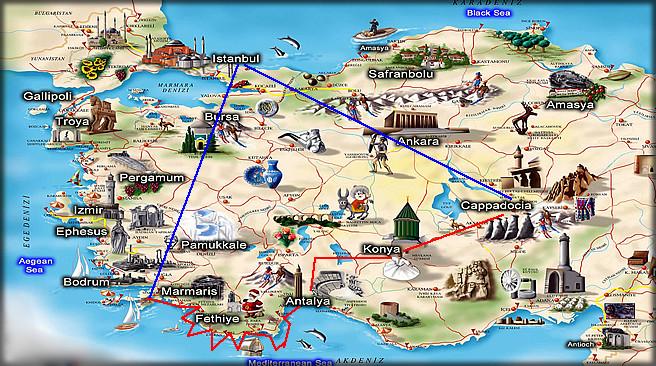سفرنامه ترکیه
